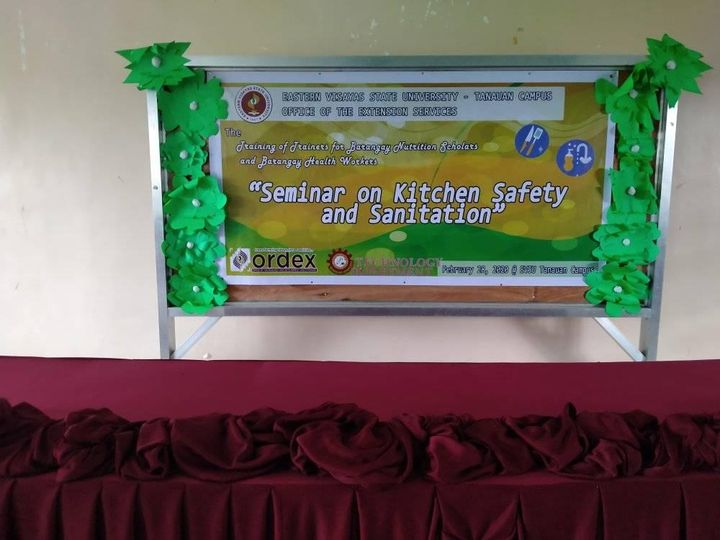 Seminar on Kitchen Safety and Sanitation